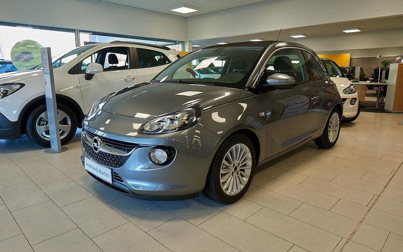Solgt Opel Adam 1,0 GLAM Swingtop 9., brugt 2017, km 18.618 i Søborg