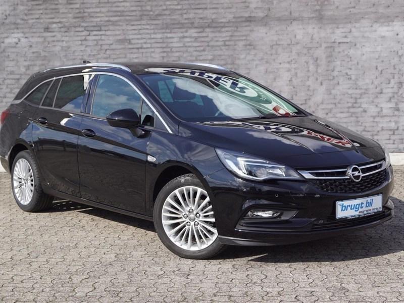 Solgt Opel Astra 1,4 Turbo INNOVATI., brugt 2017, km 11.000 i Sjælland