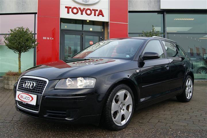 brugt Audi A3 Sportback 1,8 T FSI Attraction 160HK Stc 6g