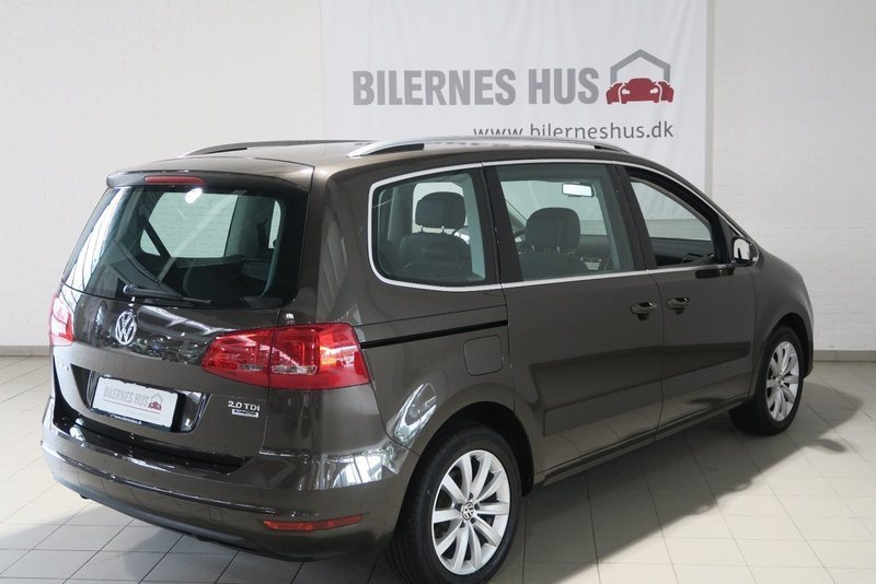 solgt vw sharan 2 0 tdi 177 highlin brugt 2014 km i varde. Black Bedroom Furniture Sets. Home Design Ideas