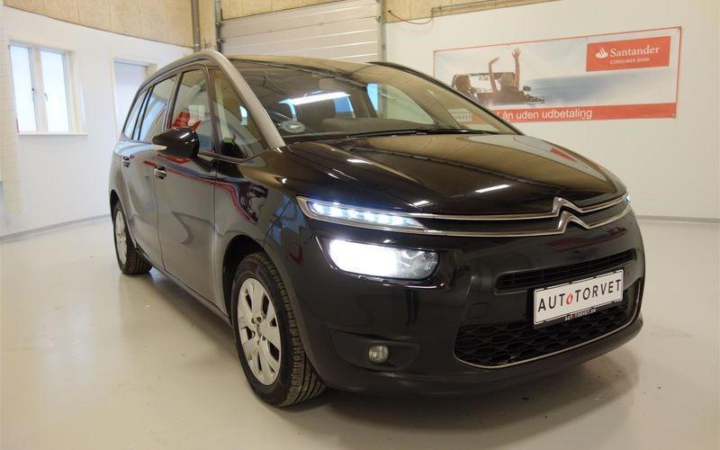 brugt Citroën Grand C4 Picasso 1,6 e-HDi Intensive ETG6 115HK 6g Aut.