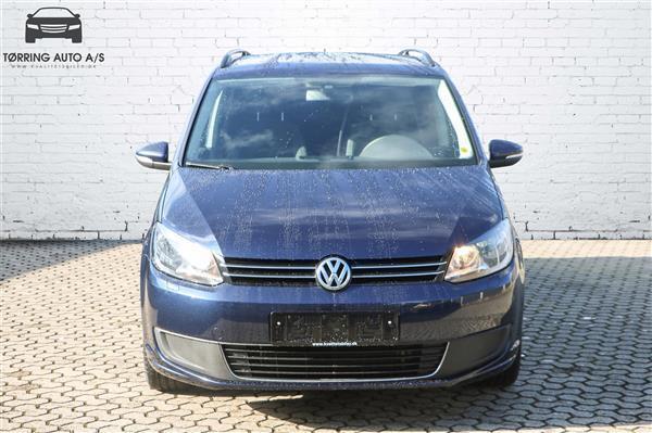 Brugt 1,6 blueMotion TDI Trendline 105HK Van 6g - Varebil VW Touran – 2012, km 117.000 i Tørring