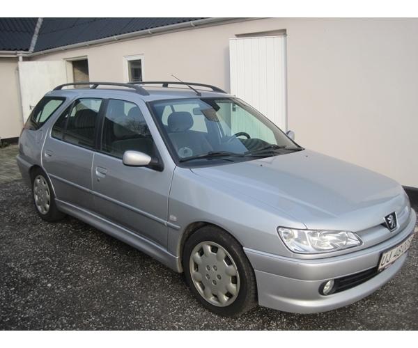 Solgt Peugeot 306 2,0 HDi st.car, brugt 2001, km 327.000 i Slagelse