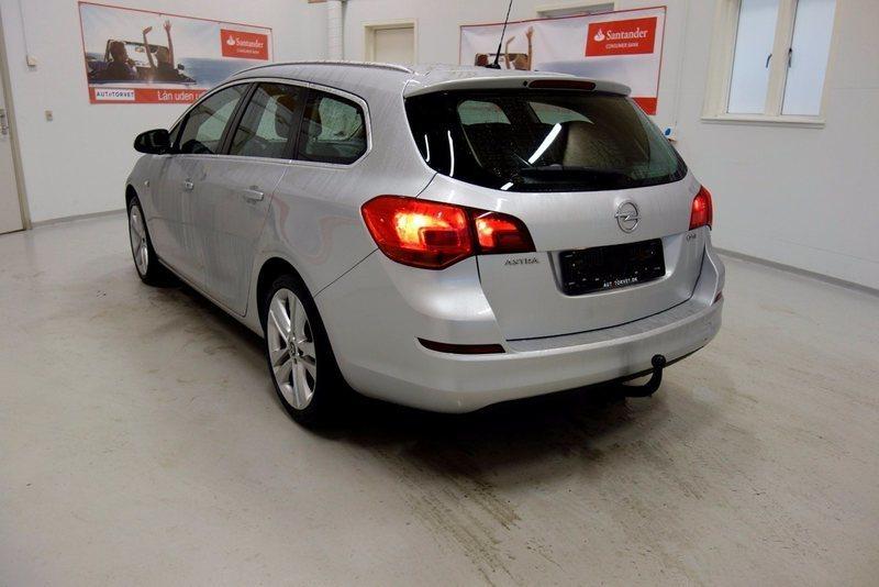 Solgt Opel Astra 7 CDTi 110 Sport ST, brugt 2012, km 198.000 i Vodskov