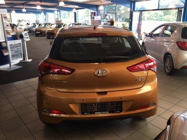Solgt Hyundai i20 1,25 Life+, brugt 2016, km 1.000 i Ishøj