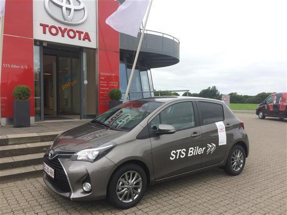 brugt Toyota Yaris 1,0 VVT-I T2 Premium Safety Sense 69HK 5d