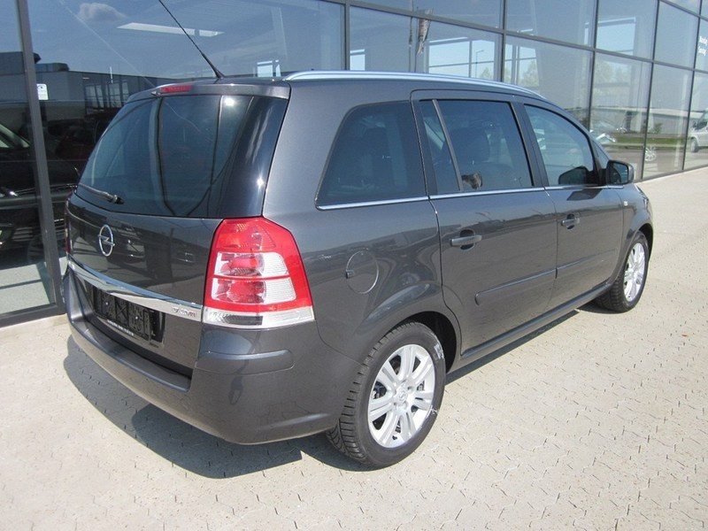 solgt opel zafira 1 7 cdti 125 enjo brugt 2012 km i varde. Black Bedroom Furniture Sets. Home Design Ideas