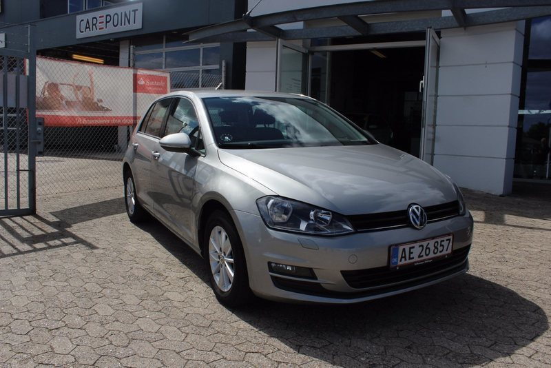 solgt vw golf vii 1 6 tdi 105 comfo brugt 2013 km i viby j. Black Bedroom Furniture Sets. Home Design Ideas