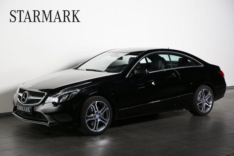 brugt Mercedes E350 BlueTEC Coupé aut.