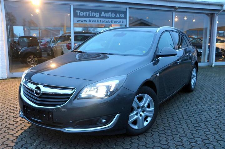brugt Opel Insignia 1,4 Turbo Edition 140HK Stc 6g