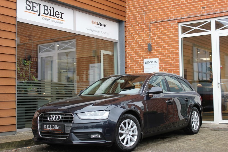solgt audi a4 2 0 tdi avant 136hk s brugt 2012 km i nr snede. Black Bedroom Furniture Sets. Home Design Ideas