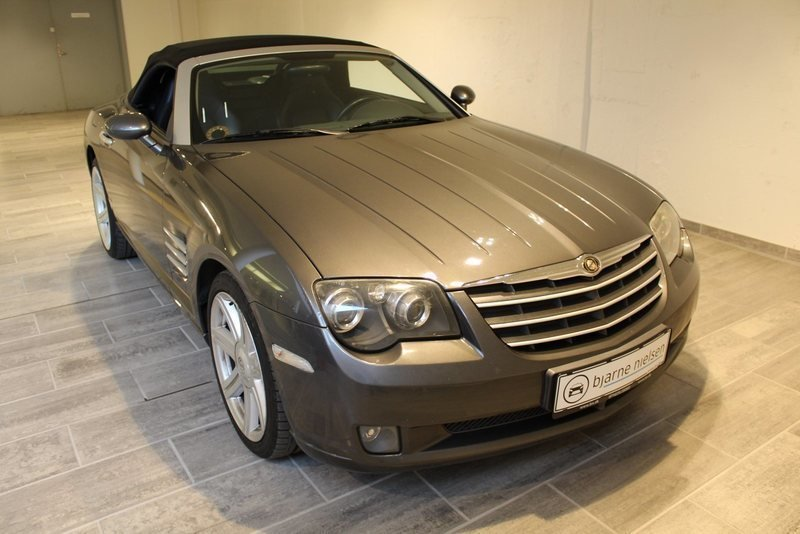 solgt chrysler crossfire 3 2 cabrio brugt 2005 km i roskilde. Black Bedroom Furniture Sets. Home Design Ideas