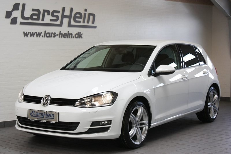 solgt vw golf vii 2 0 tdi 150 highl brugt 2015 km 74. Black Bedroom Furniture Sets. Home Design Ideas