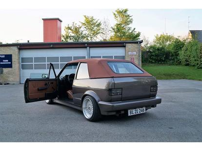solgt vw golf cabriolet 1 8 gti brugt 1991 km i. Black Bedroom Furniture Sets. Home Design Ideas