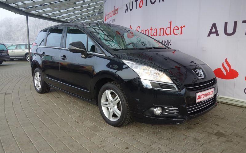brugt Peugeot 5008 1,6 HDI Premium 112HK 6g