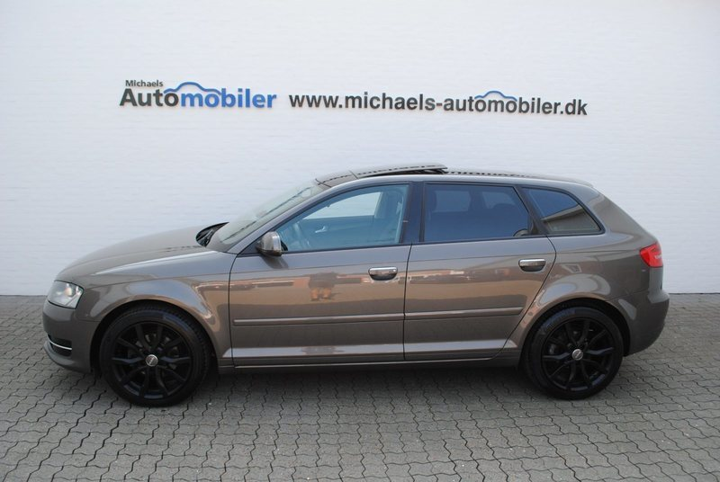 brugt Audi A3 Sportback TDi Attraction S-tr.
