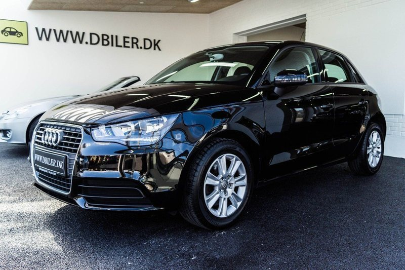 solgt audi a1 sportback 1 4 tfsi 12 brugt 2014 km i f revejle. Black Bedroom Furniture Sets. Home Design Ideas