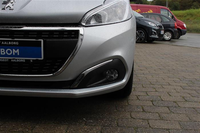 Solgt Peugeot 208 1,6 BlueHDi Desir., brugt 2017, km 7.000 i Aalborg