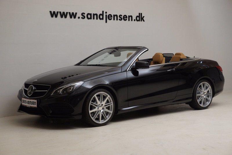 brugt Mercedes E500 7 Cabriolet aut., 2d