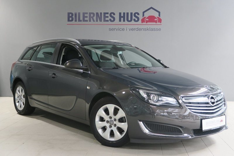 brugt Opel Insignia CDTi 120 Edition ST eco