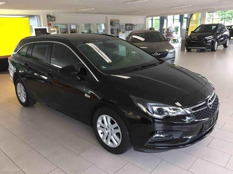 Solgt Opel Astra 1,4 Turbo Enjoy 15., brugt 2016, km 10.068 i Syddanmark