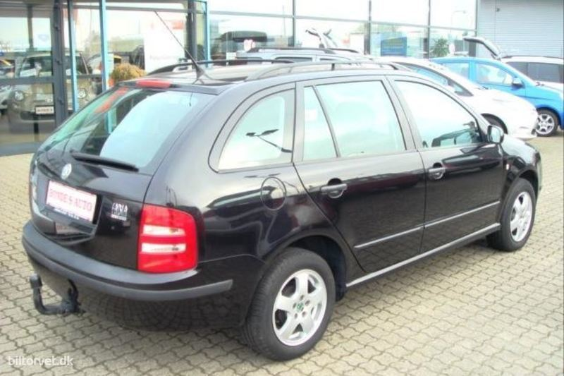 brugt combi 1 4 16v comfort 75hk stc skoda fabia 2004 km i kastrup. Black Bedroom Furniture Sets. Home Design Ideas