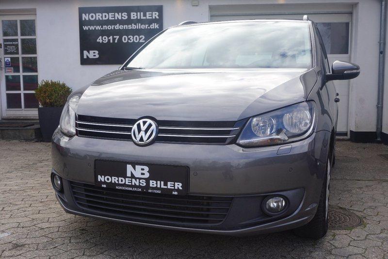 brugt VW Touran 1,6 TDi 105 Trendline 7prs BMT