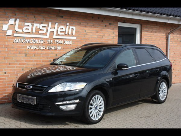 brugt Ford Mondeo 2,0 TDCi 163 Collection st.car 5d