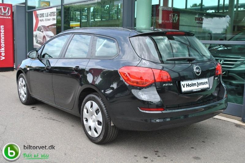 Solgt Opel Astra 1.7 CDTi 110 Enjoy., brugt 2012, km 8.000 i Odense SØ