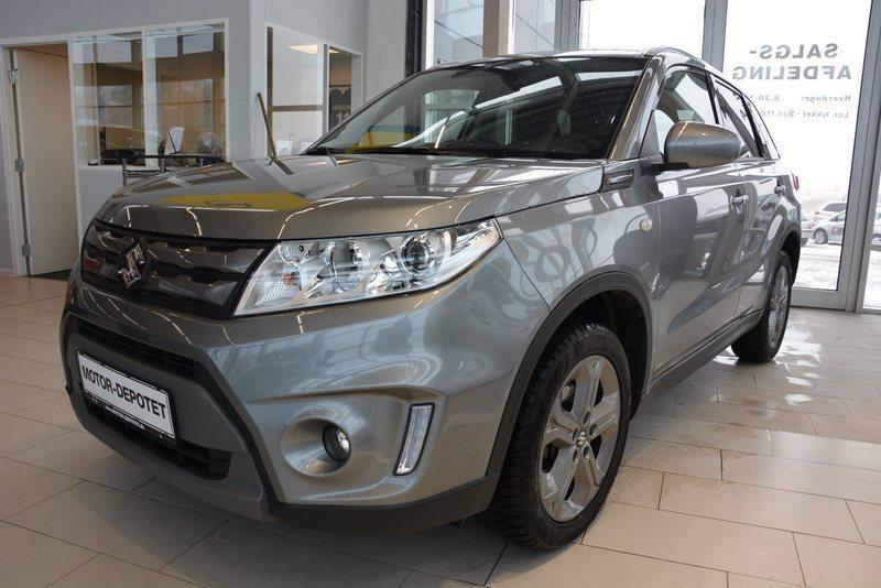 Solgt Suzuki Vitara 1,6 Active, brugt 2017, km 7.000 i Viby