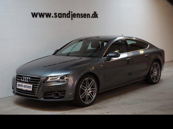 brugt Audi A7 Sportback 3,0 TDi 245 quattro S-tr., 5d