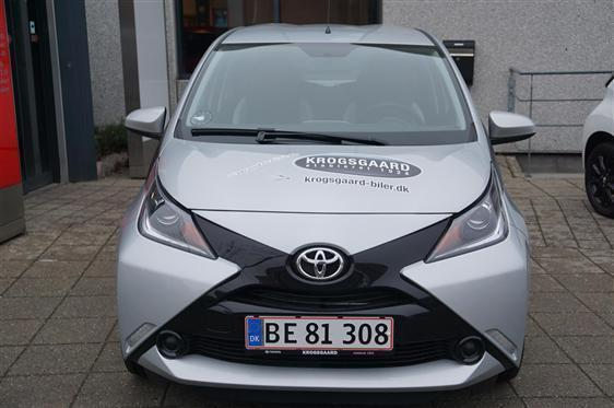 brugt Toyota Aygo 1,0 VVT-I X-Play + Touch X-Shift 69HK 5d Aut.