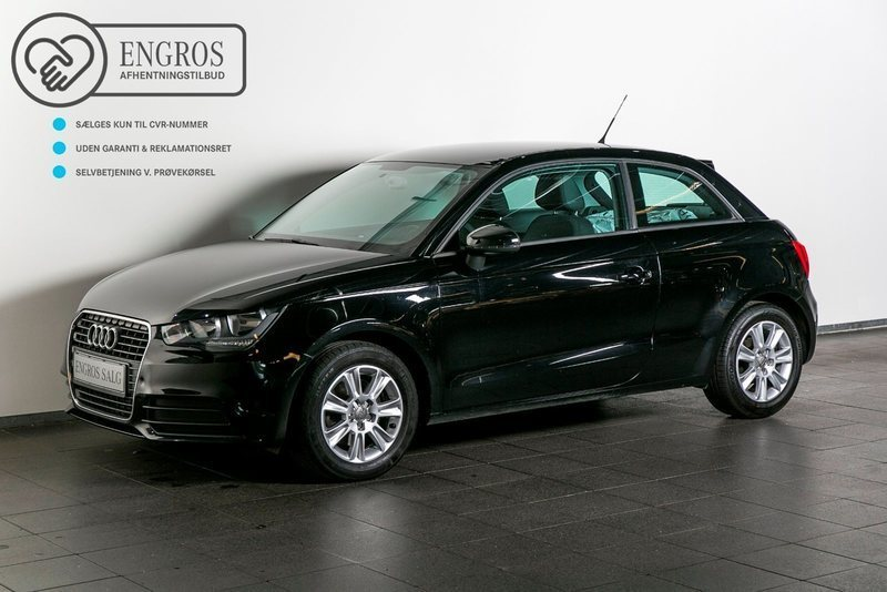 solgt audi a1 1 6 tdi 105 attraction brugt 2011 km i vejle. Black Bedroom Furniture Sets. Home Design Ideas