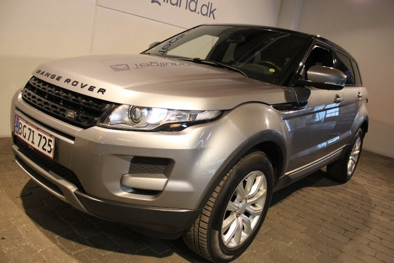 brugt Land Rover Range Rover evoque 2,2 TD4 Pure aut.