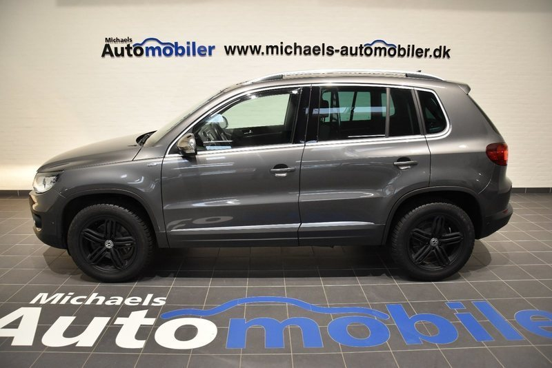 brugt 2 0 tdi 140 sport style dsg 4m vw tiguan 2014 km i varde. Black Bedroom Furniture Sets. Home Design Ideas