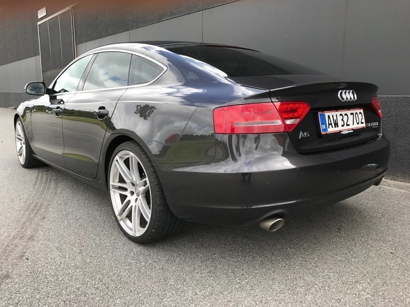 solgt audi a5 sportback 3 0 tdi 240 brugt 2010 km i hinnerup. Black Bedroom Furniture Sets. Home Design Ideas