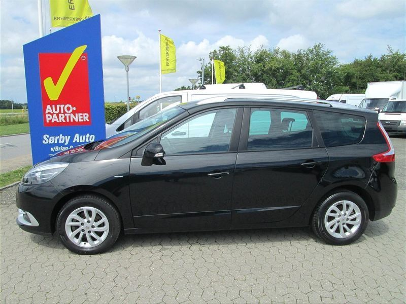 brugt Renault Grand Scénic 7 pers. 1,5 DCI Limited 110HK 6g