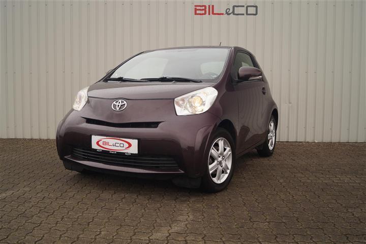 brugt Toyota iQ 1,0 VVT-I 69HK 3d