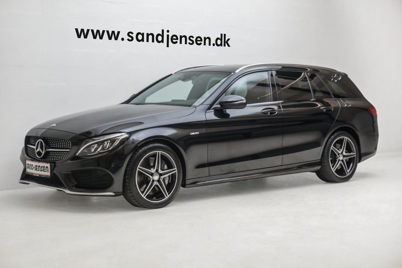brugt Mercedes C450 AMG 3,0 AMG st.car aut. 4-M