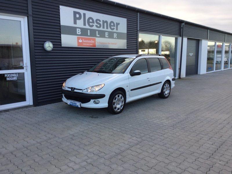 brugt Peugeot 206 1,6 S16 st.car