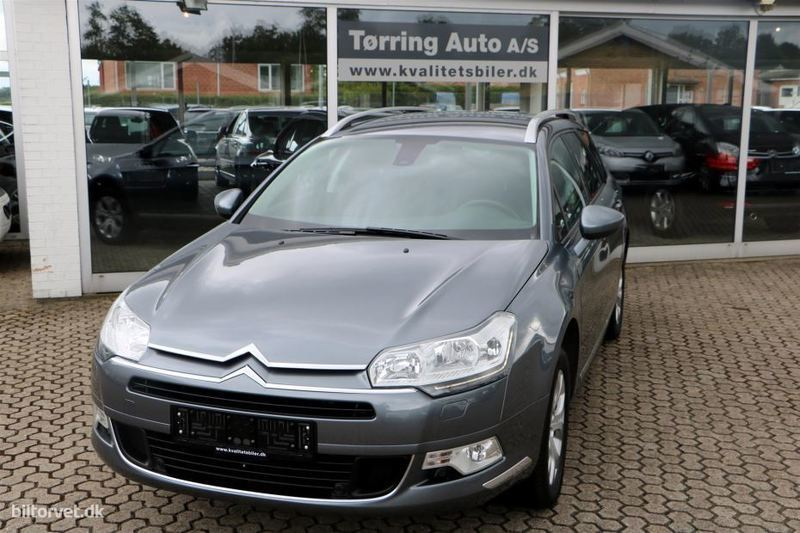 brugt Citroën C5 Tourer 2,0 HDI Seduction 163HK Stc 6g Aut.