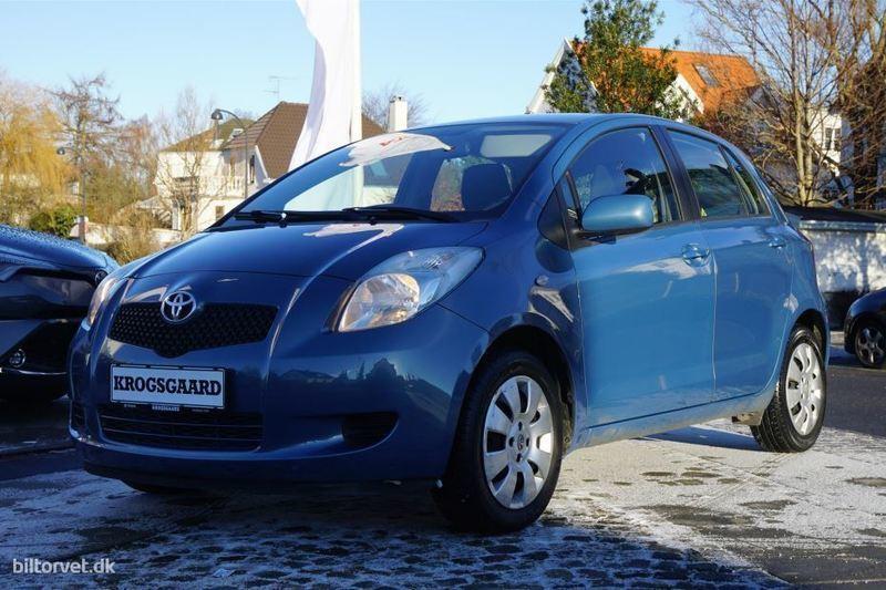 brugt Toyota Yaris 1,3 VVT-I Linea Terra 87HK 5d