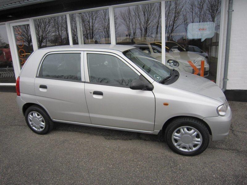 Solgt Suzuki Alto , brugt 2005, km 103.000 i Thisted