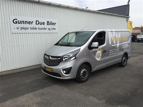 brugt Opel Vivaro L1H1 1,6 BiTurbo CDTI Edition Start/Stop 120HK Van
