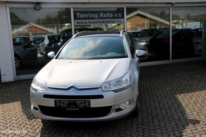 brugt Citroën C5 Tourer 2,0 HDI Seduction 163HK Stc 6g
