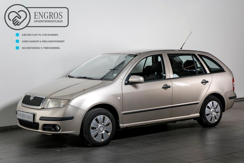 solgt skoda fabia 1 4 tdi 80 ambien brugt 2006 km i vejle. Black Bedroom Furniture Sets. Home Design Ideas