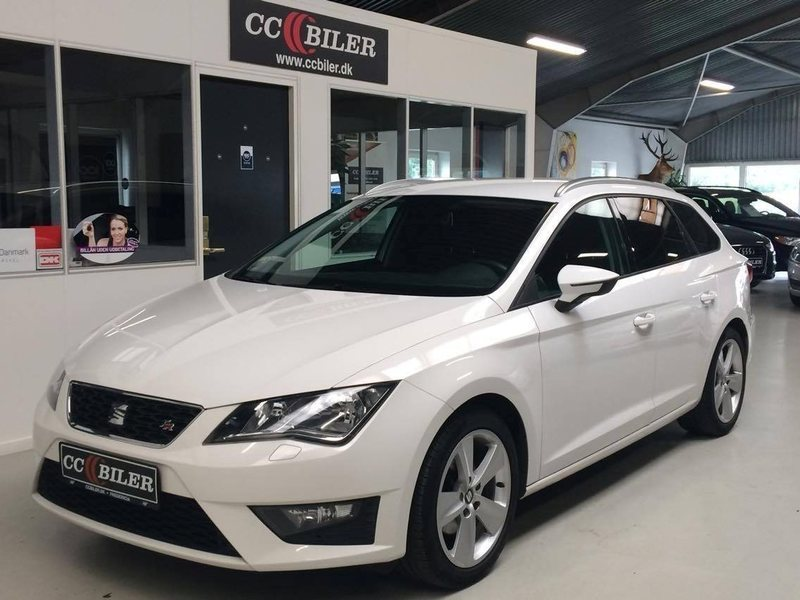 solgt seat leon st 2 0 tdi 150 fr e brugt 2014 km i fredericia. Black Bedroom Furniture Sets. Home Design Ideas