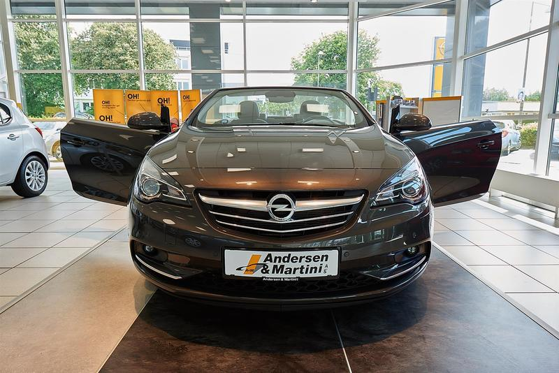 Solgt Opel Cascada 1,6 Turbo Cosmo ., brugt 2013, km 400.000 i Søborg