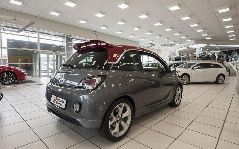 Solgt Opel Adam 1,4 Turbo S 150HK 3d, brugt 2015, km 30.021 i Søborg