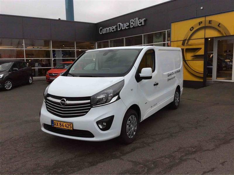 brugt Opel Vivaro L1H1 1,6 CDTI Edition 115HK Van